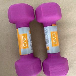 5 LB each Cap Pair Dumbbells (10 lbs total)